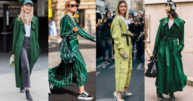 2020年各种绿色从头绿到脚!Chanel、Tod's、LV10样单品美得冒泡
